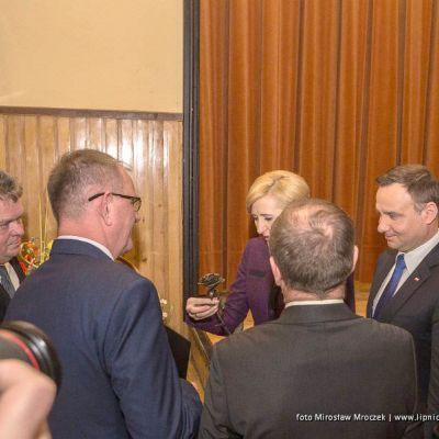 Spotkanie Zarządu Polskiego Stowarzyszenia Producentów Wyrobów Wędzonych z Panem Prezydentem RP Andrzejem Dudą. - 1